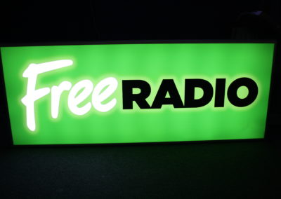 Lightbox for Free Radio