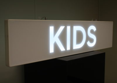 Ultra Slim Solid Surface Lightbox