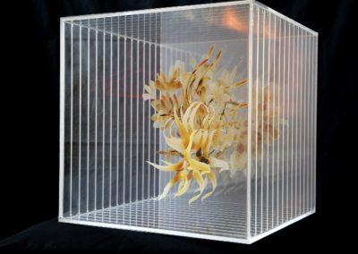 Gabrielle Chanel Floral POS Cube