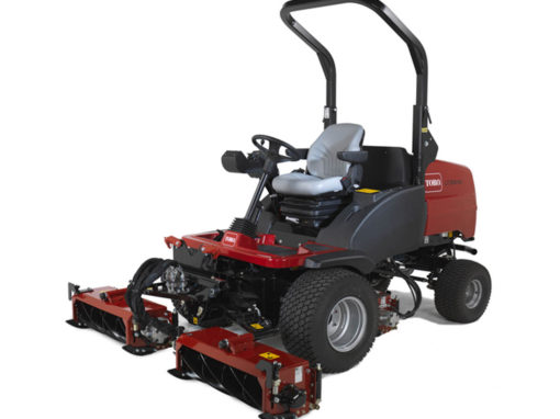 Engine covers and platforms for Hayter commercial mowers