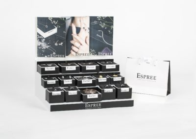 Espree Jewellery POS Display
