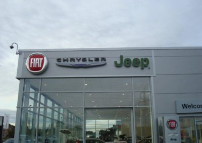 Dealership Fascia Signs