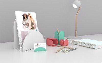 Sister brand launches 'funky' acrylic desk organiser range