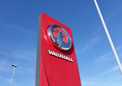 Vacuum Formed Fascia for Vauxhall UK