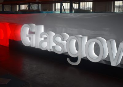 TEDx Glasgow LED Sign