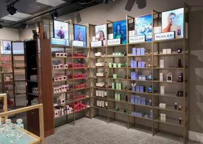 Cosmetic POS display & LED lightboxes