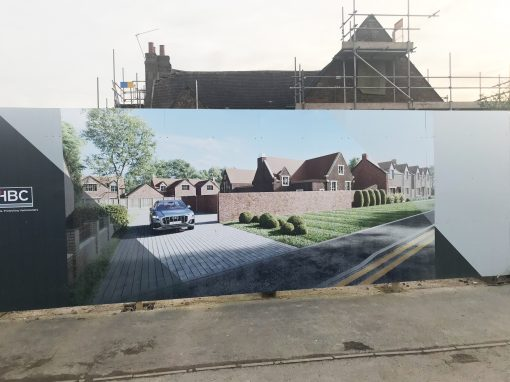 Hoardings for Sidley Piper Homes