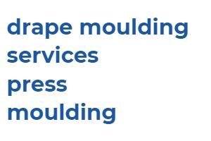 press moulding. drape moulding