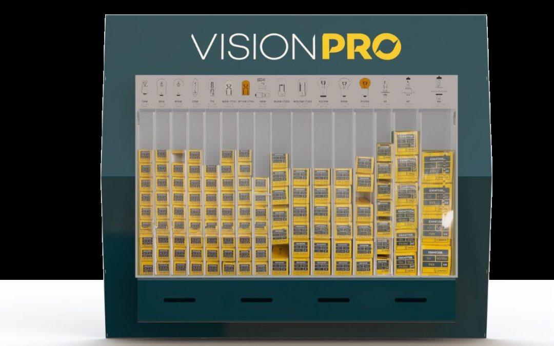 elta vision pro light bulb disenser